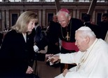 Pope John Paul, JohnPaul II, Noreen von Zwehl, M.A.N. Foundation, Rome