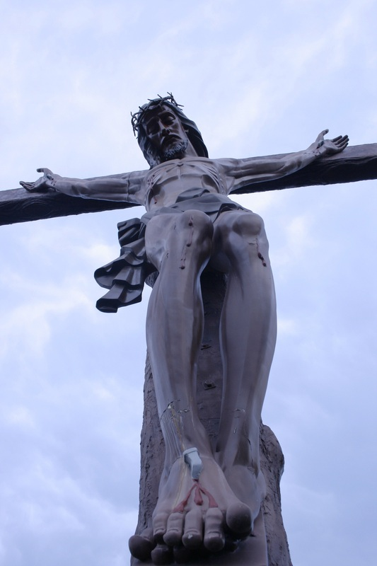 Crucifix, Jesus, The Cross, Jesus Christ, Rosa Mystica's outdoor crucifix
