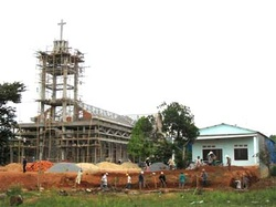 Church construction, Vietnam, MAN Foundation