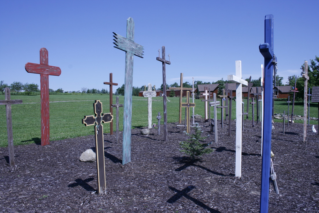 Field of Crosses at Rosa Mystica, Field of Crosses, Rosa Mystica of America