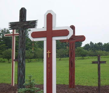 Field of Crosses, Rosa Mystica Field of Crosses