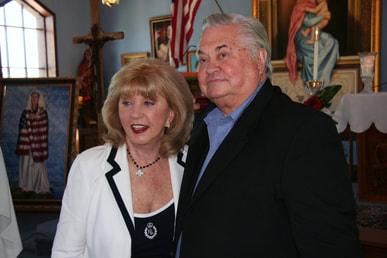 Noreen von Zwehl, Noreen and Joe von Zwehl, chair of Rosa Mystica Foundation of America
